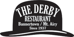 The Derby Restaurant — A Mount Airy NC Restaurant — Serving Southern and Home-Style Cooking Logo